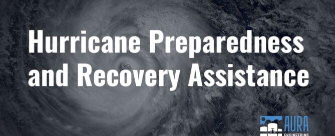 Hurricane Preparedness and Recover